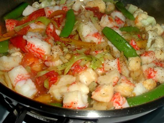 Imitation Crab Stir-Fry Recipe - Genius Kitchen