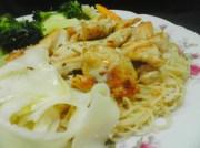 angel hair pasta with chicken