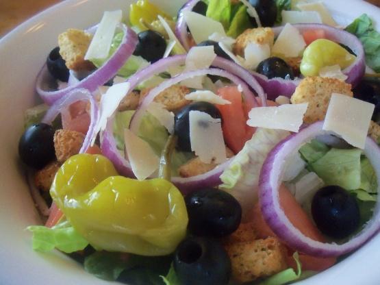 Olive Garden Salad Copycat Recipe Food Com