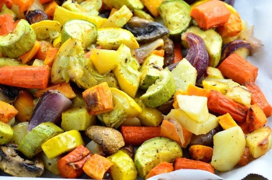 OvenRoasted Vegetables Recipe  Genius Kitchen