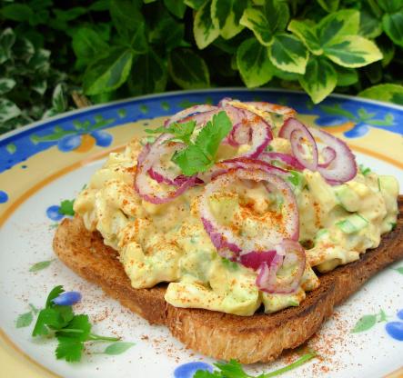 Smoked Paprika Egg Salad Sandwich