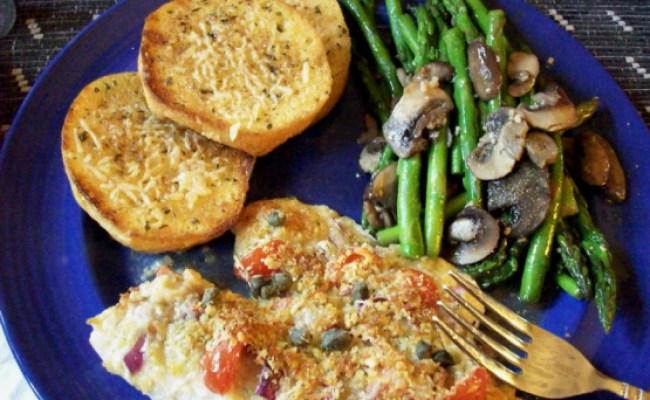 Asparagus Spears With Mushrooms Recipe Genius Kitchen