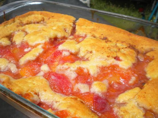 Fresh Peach Cobbler Paula Deen Recipe  Genius Kitchen