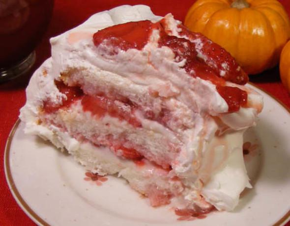 Strawberry Angel Cake Recipe Food Com