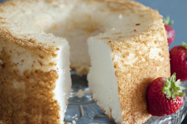 Angel Food Cake Homemade Recipe Food Com