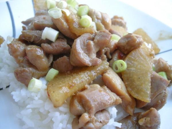 Daikon Radish With ChickenKorean Style Recipe Foodcom