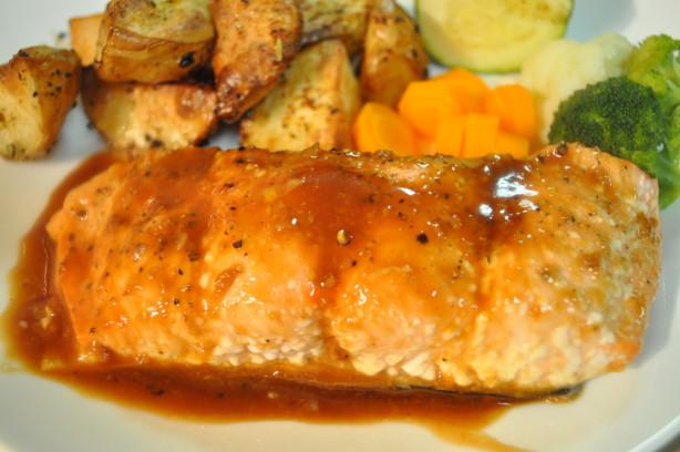 Brown SugarGlazed Salmon Recipe  Foodcom