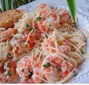 kittencals lemon shrimp scampi