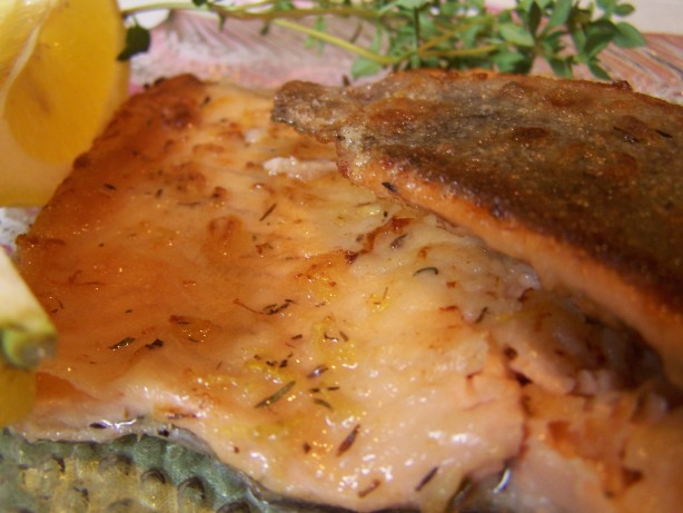 Lemon Thyme Rainbow Trout Recipe  Foodcom