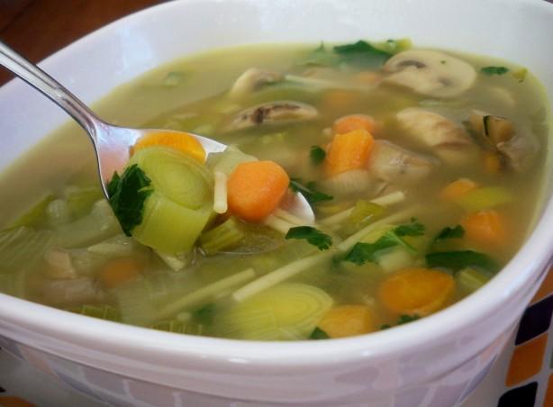 Spring Vegetable Soup Recipe  Foodcom