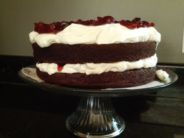 Authentic Black Forest Cake Schwarzwald Kirsch Kuchen