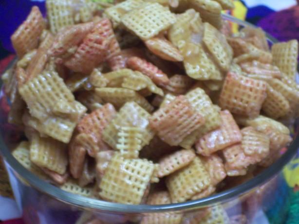 quick chex mix candy recipe food com