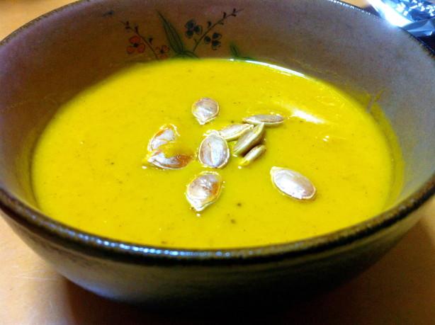 roasted kabocha japanese pumpkin soup recipe food com