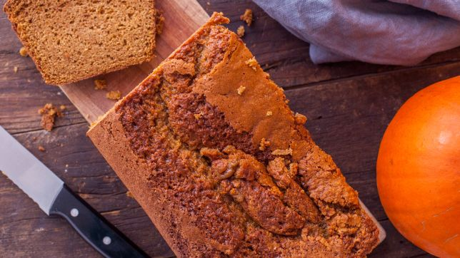 New Hampshire: Pumpkin Pie Bread