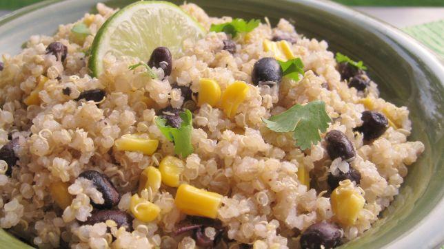 Quinoa & Black Beans