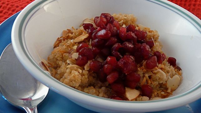 Pomegranate Breakfast Quinoa