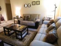 Leopard Print Living Room Decor