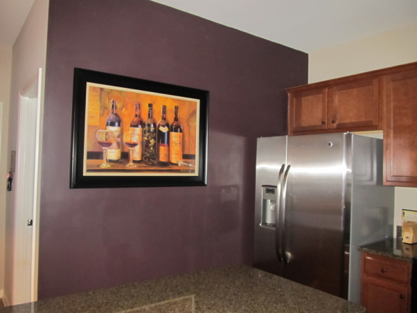 Wine Theme Kitchen Themed Just Painted
