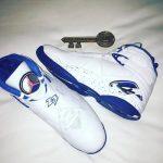 """リーク?NBA ALLSTARでドレイク着用 OVO x  Air Jordan 8 """"Kentucky Blue"""" か"""