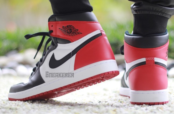 "AIR JORDAN 1 RETRO HIGH OG ""Black Toe""2016"
