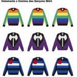 12月27日発売 Vetements x Comme des Garcons Shirt