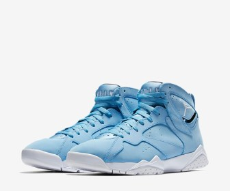 "4月29日発売予定 NIKE AIR JORDAN 7 RETRO ""UNIVERSITY BLUE"""
