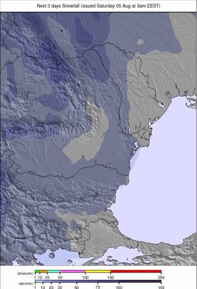 Precipitatii Romania