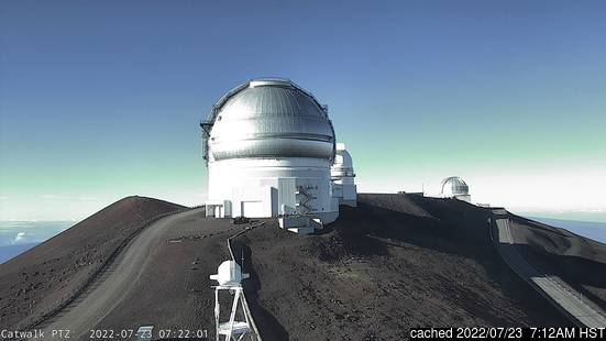 Live Snow webcam for Mauna Kea