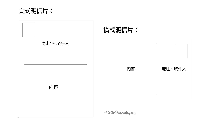 寄一張風景給你!如何從日本寄國際明信片?格式寫法超簡單教學 - 白雪姬 喫趣玩