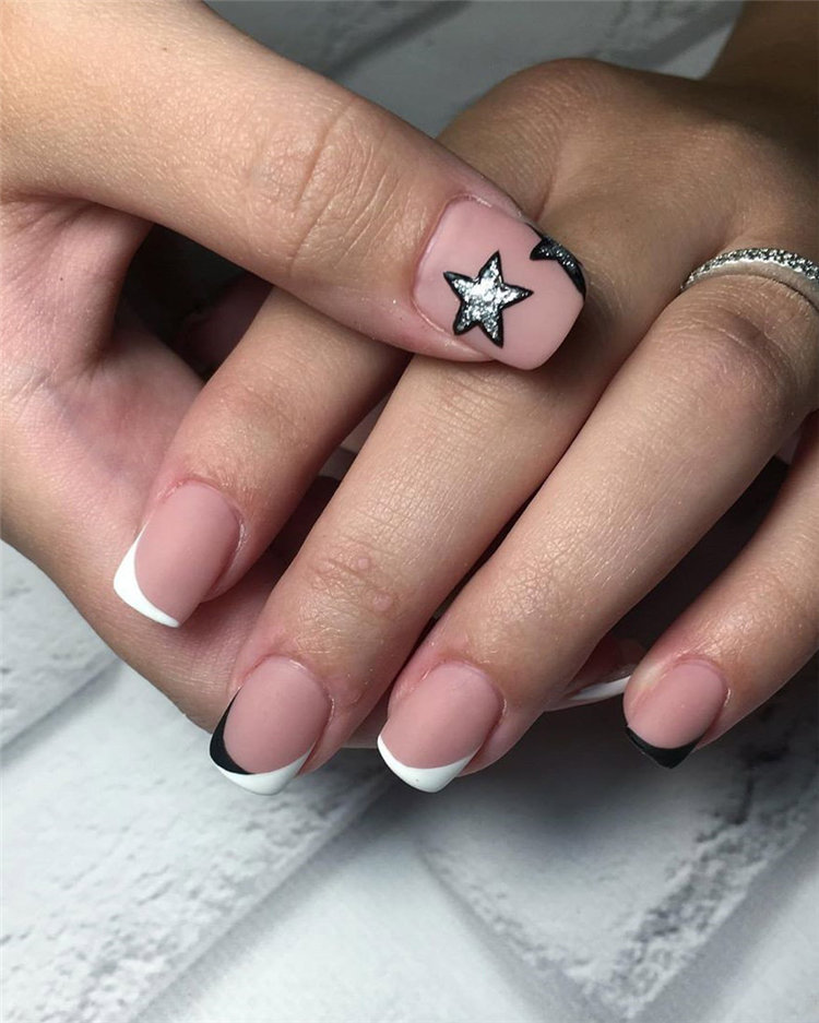 Check out these 70 easy and elegant matte nail designs and get some inspiration! Apply matte nail with your favorite nail polish and to show your matte nails to your friends! #MatteNails #MatteNailDesigns