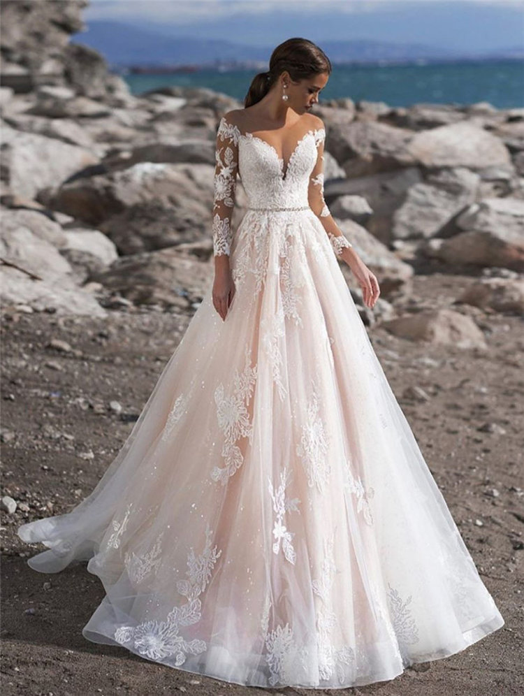 Brides of 2019, check out the 50+ Most Gorgeous Wedding Dresses & Bridal Dresses Ideas to see what's hot now, and to make the choice of your wedding dress easier and with a clearer picture in mind .we've got all the hottest wedding dress trends you need to know. Read on to see some of our ideas.