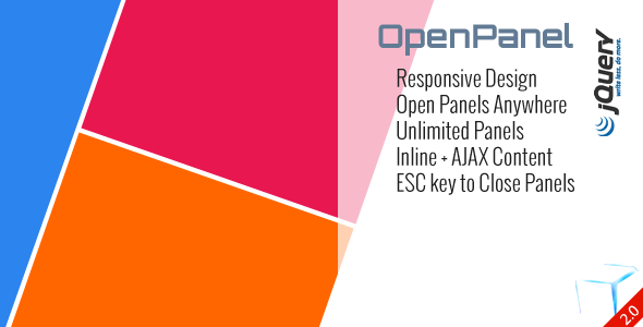 Open Unlimited Responsive Panel Anywhere