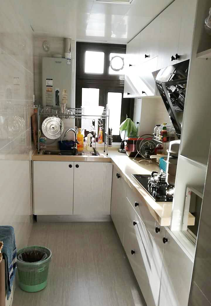 kitchen remodel pictures small island for 绝了 15年老厨房改造后竟完胜新家 房产资讯 房天下 time
