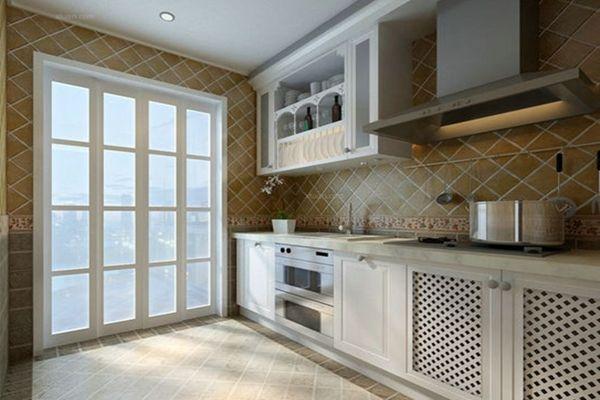 kitchen walls countertops for kitchens 厨房贴哪种瓷砖好 厨房墙面砖搭配原则 房天下装修知识