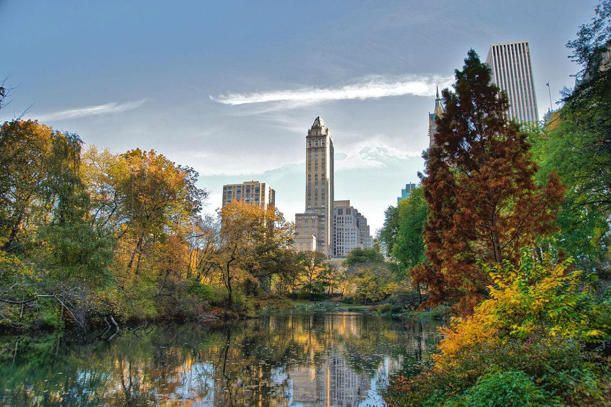 都市綠洲 —— 紐約中央公園   紐約中央公園   Central Park   畢士達噴泉   希望之聲