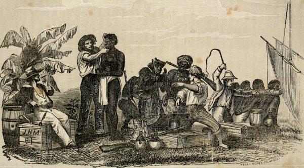 奴隸貿易交易現場 (圖片來源:Flickr)