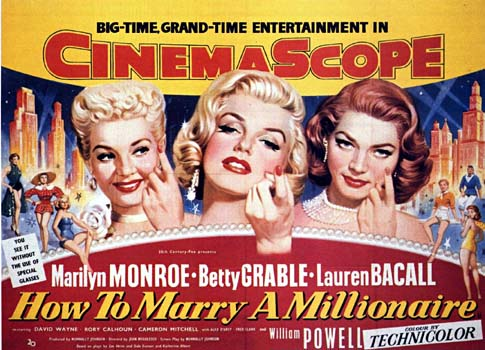 Image result for how to marry a millionaire