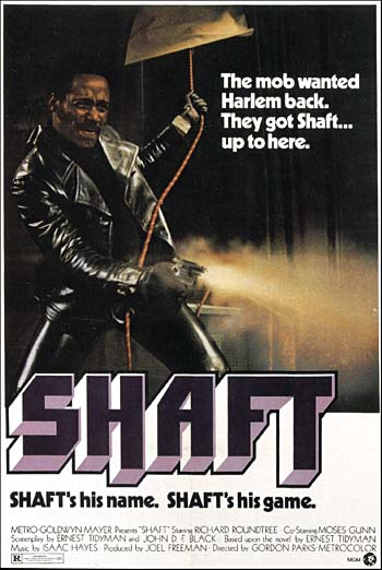 Resultat d'imatges de poster movie shaft