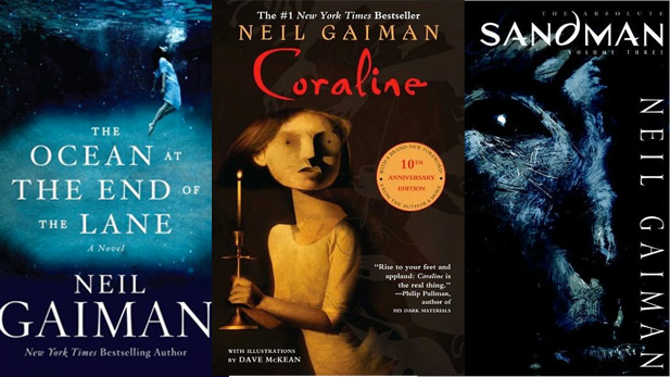 Image result for neil gaiman books