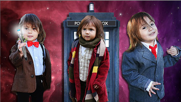 This Two Year Old Cosplays All Eleven Doctors  Mindhut