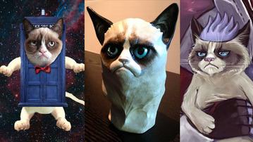 SparkLife  Super Adorbs Grumpy Cat Fan Art