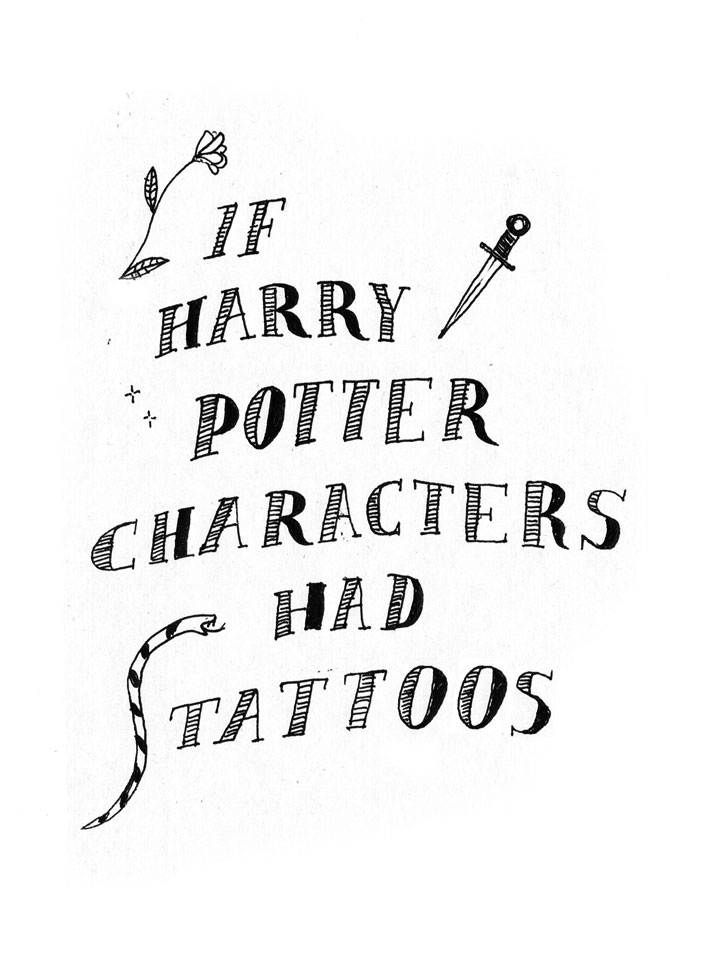 SparkLife » Every Harry Potter Book Summed Up in a Single