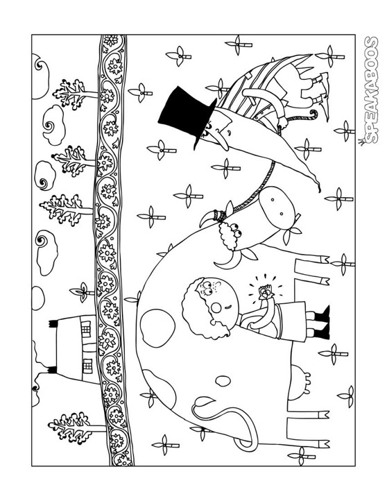 Stalking Coloring Pages