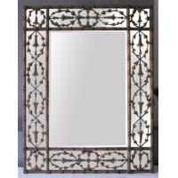 Large rectangle shape wall mirror in simple design of item ...