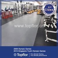 Interlocking rubber gym flooring/ Weight room gym flooring ...