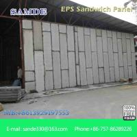 Prefabricated insulated wall panel installation for the ...