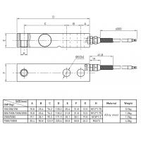 Shear Beam Compression Load Cell of item 102724254
