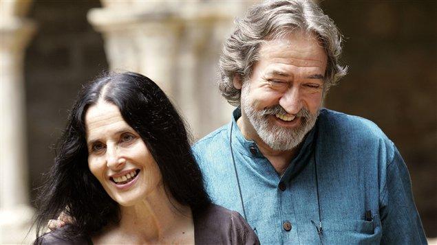 Montserrat Figueras et son mari Jordi Savall (en 2006)