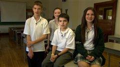 Des étudiants du Collège Durocher Saint-Lambert
