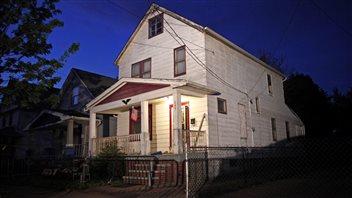 La maison où les trois jeunes femmes ont été retrouvées, à Cleveland.